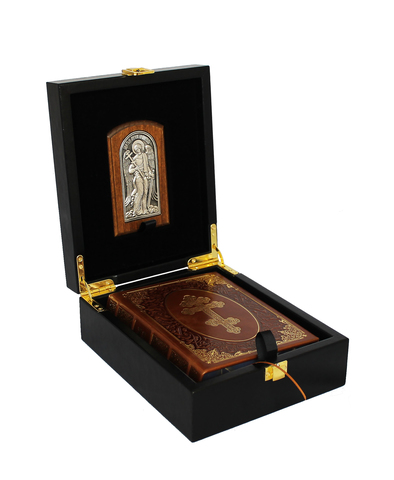 Молитвослов с иконой. Подарочный набор.