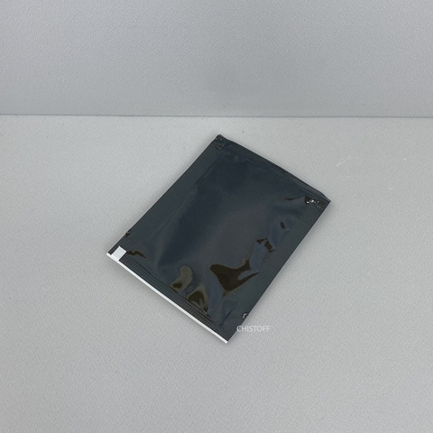 Салфетка влажная в индивидуальной упаковке (саше) 60х80 мм черная