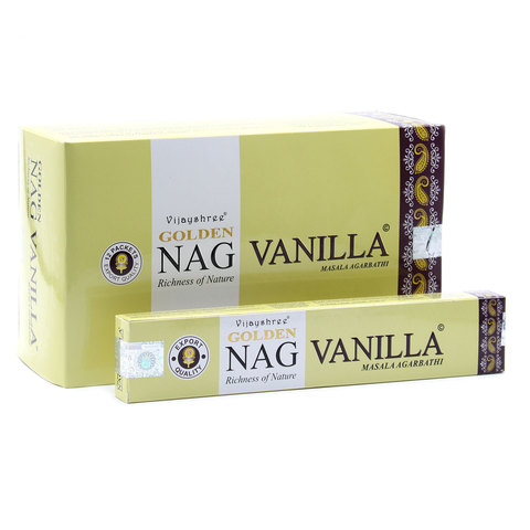 Индийские палочки Golden Nag Vanilla