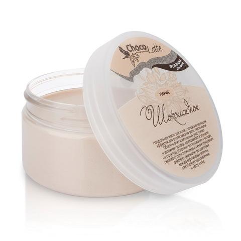 Крем-маска  кондиционер для питания, укрепления и густоты волос ПАРФЕ ШОКОЛАДНОЕ с натуральным какао 200 мл ТМ ChocoLatte