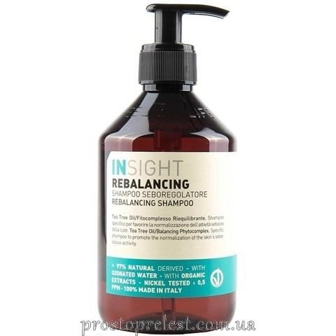 Insight Rebalancing Sebum Control Shampoo  - Шампунь проти жирної шкіри голови