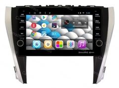 Магнитола для Toyota Camry V55 (15-17) Android 10 4/64GB IPS DSP 4G модель CB1012T8
