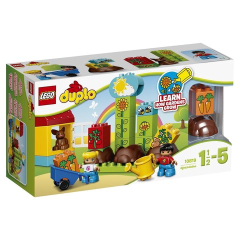 LEGO Duplo: Мой первый сад 10819 — My First Garden — Лего Дупло