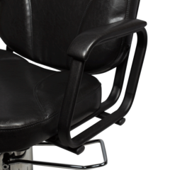 Парикмахерское кресло Бриз-3 пневматика хром, пятилучье хром на подпятниках