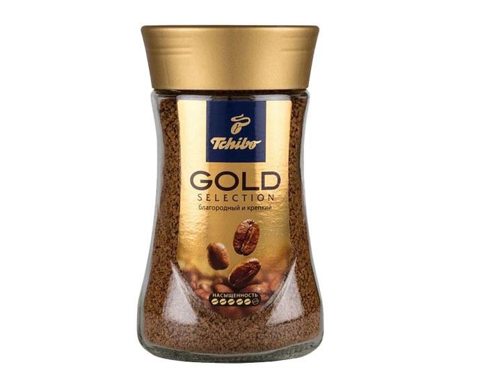 купить Кофе растворимый Tchibo Gold Selection, 95 г