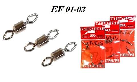 Вертлюг Extreme Fishing арт. 01-03 №4/0 (упак. 4 шт.)