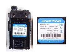 Рация Baofeng UV-5R III Triple Band трехдиапазонная черная с гарнитурой