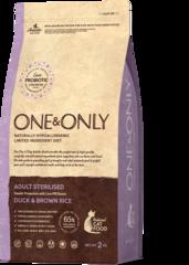 Сухой корм One&Only Duck & Brown Rice Adult Sterilisie