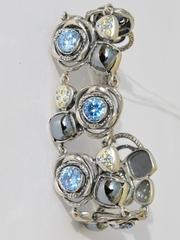 Ассорти (браслет из серебра)