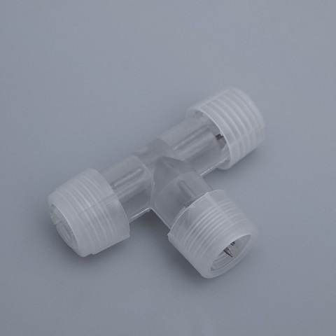 Коннектор соединительный для 3-х проводного дюралайта Ø 13 мм  Т - образный.