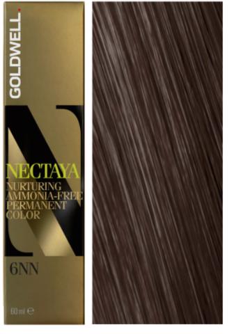 Goldwell Nectaya 6NN темно-русый - экстра 60 мл