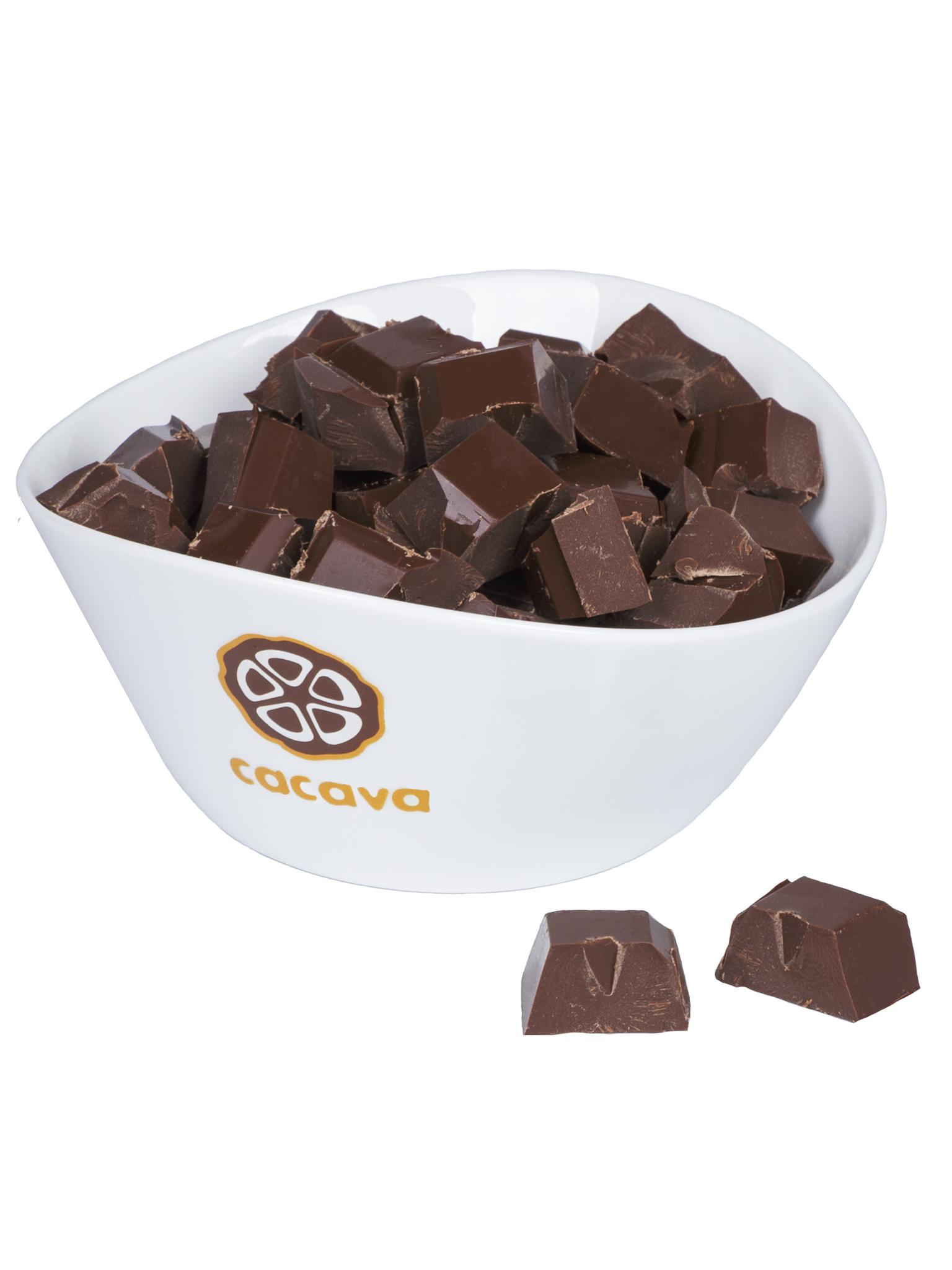 Молочный шоколад 50 % какао (Индонезия, WEST BALI, Jembrana), внешний вид