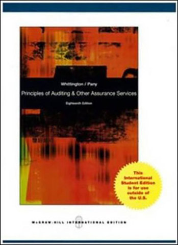 9780071317139 - Principles of auditing and other assurance services with cd