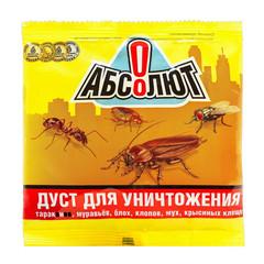 Средство от насекомых Абсолют Против всех видов насекомых дуст 100 г
