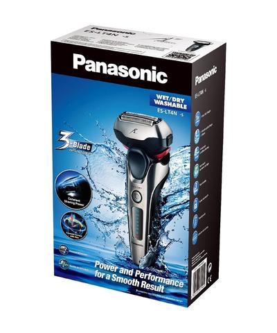 Бритва сетчатая Panasonic, реж.эл.:3, аккум, серебристая