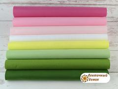 Набор корейского мягкого фетра 15*20 см № 9
