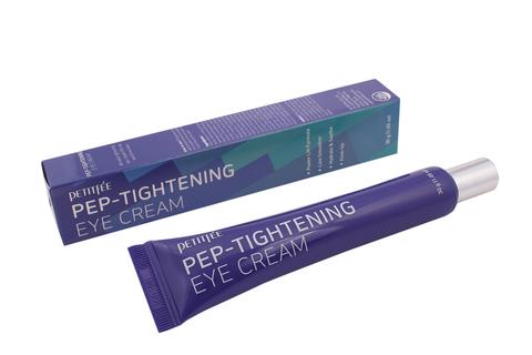 PETITFEE Крем для глаз ПЕПТИДЫ/ОМОЛОЖЕНИЕ Pep-Tightening Eye Cream, 30 гр