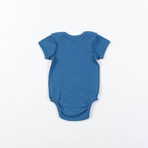 Short-sleeved bodysuit 0+, Indigo