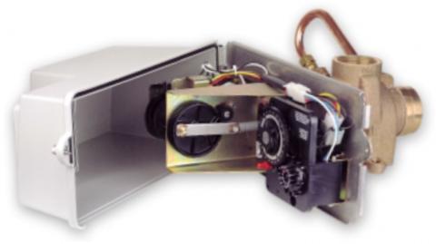 Fleck 3150 Filter chrono SM - Бл. упр. на фильтрац. с боковой посадкой