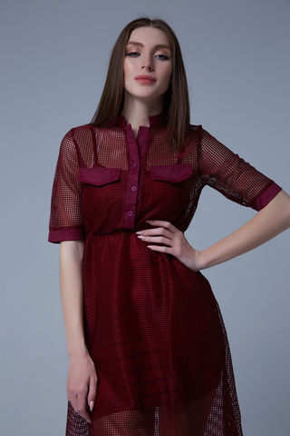 Платье-двойка из вискозы Nadya