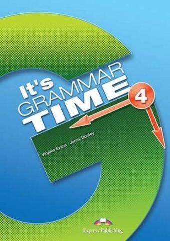 It's Grammar Time 4. Student's book. Учебник с ссылкой на электронное приложение