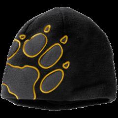 Шапка детская Jack Wolfskin Front Paw Hat Kids black