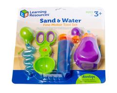 Маленькие ручки. Вода и песок Learning Resources