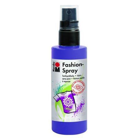 Краска-спрей для хлопка и льна Marabu-Fashion Spray 037 Слива