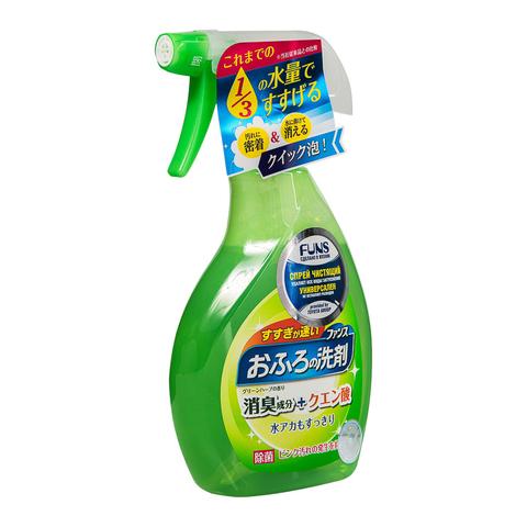 FUNS Спрей чистящий для ванной комнаты с ароматом свежей зелени 380 мл