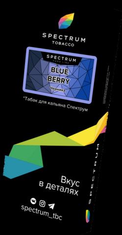 Табак Spectrum Hard Line Blue Berry (Черника) 100г