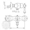 Смеситель для душа Migliore Bomond ML.BMD-9738 схема