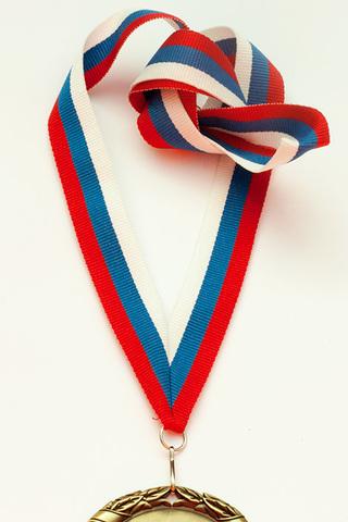 Лента для медали Триколор