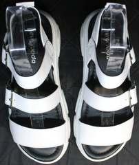 Летние босоножки спортивные женские Evromoda 3078-107 Sport White
