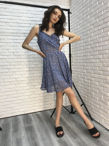 Платье-сарафан на бретельках купить