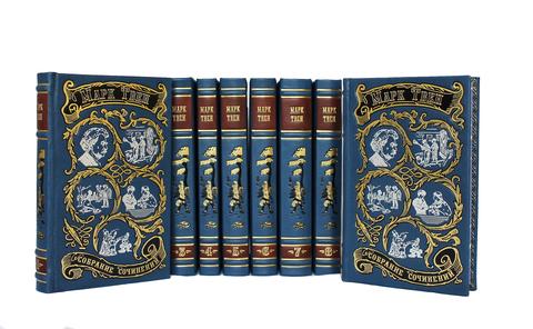 Марк Твен. Собрание сочинений. (в 8-ми томах)