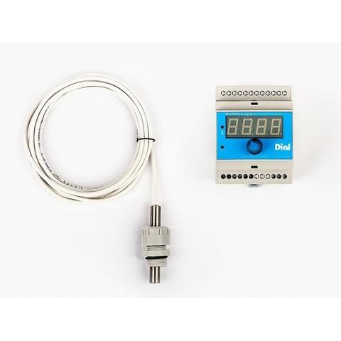 Панель управления фильтрацией и нагревом УФТ.Б1.ДТ-1 Dial (Блок БАРРАКУДА-1 в комплекте с датчиком температуры ДТ-1)