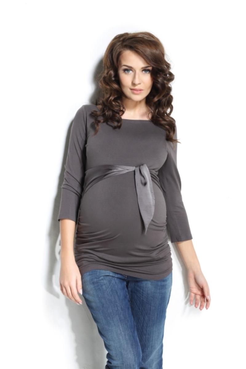 Блузка для беременных 01200 коричневый