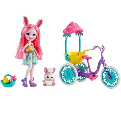Бри Кроля с велосипедом. Энчантималс