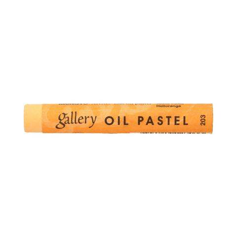 Пастель масляная Mungyo, профессиональная, цвет № 203 Оранжево-жёлтый