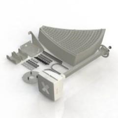 Vika-24F MIMO - сетчатая разборная параболическая антенна LTE1800/UMTS2100/LTE2600