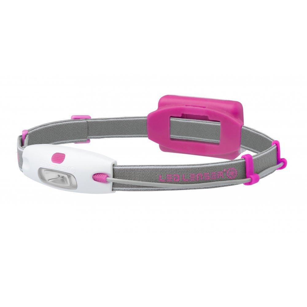 Фонарь светодиодный налобный LED LENSER NEO (Розовый)