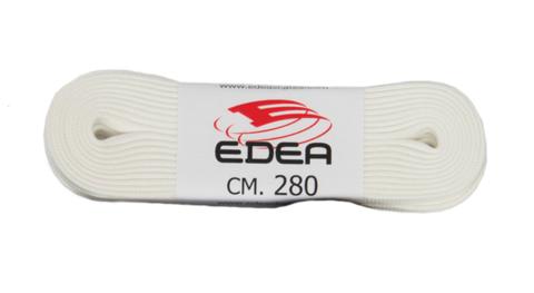 Шнурки для коньков Edea (белые)