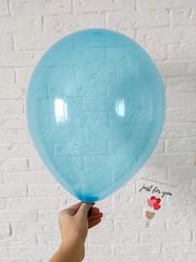 Воздушный шар голубой кристалл