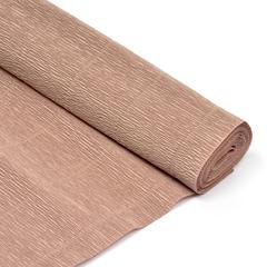 Бумага гофрированная простая, 180гр 17Е/1 серо-розовая