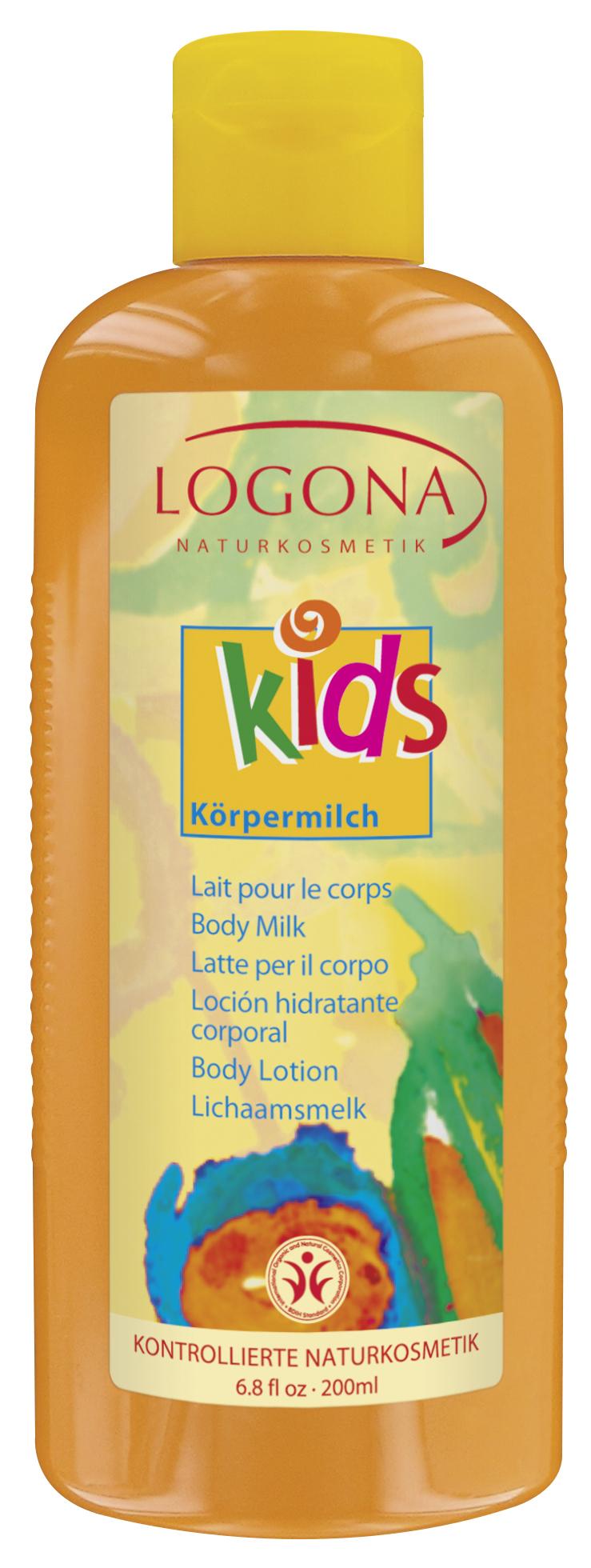 LOGONA Детское молочко для тела