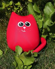Подушка-игрушка антистресс Gekoko «Кот Искра» 3