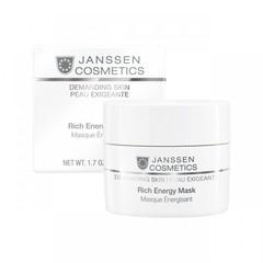 Энергонасыщающая регенерирующая маска Rich Energy Mask, Demanding Skin, Janssen Cosmetics, 50 мл
