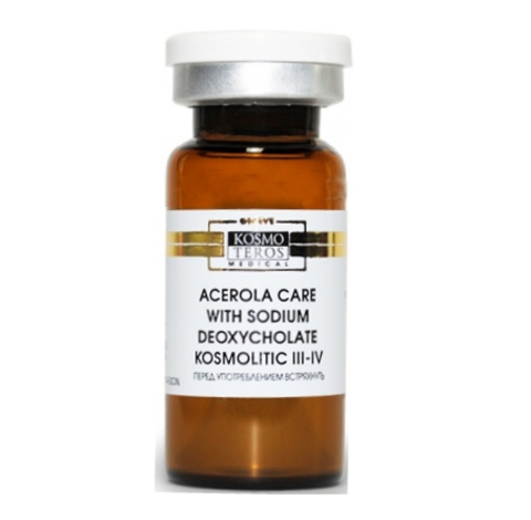 Концентрат с ацеролой и дезоксихолатом натрия/ Acerola Care with Sodium Deoxycholate KOSMOLITIC III-IV, Kosmoteros (Космотерос), 8 мл