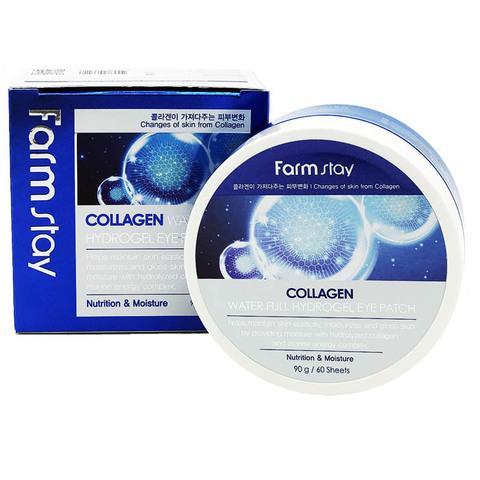 Farmstay Патчи для глаз Collagen Water full hydrogel eye patch  (60 шт.)