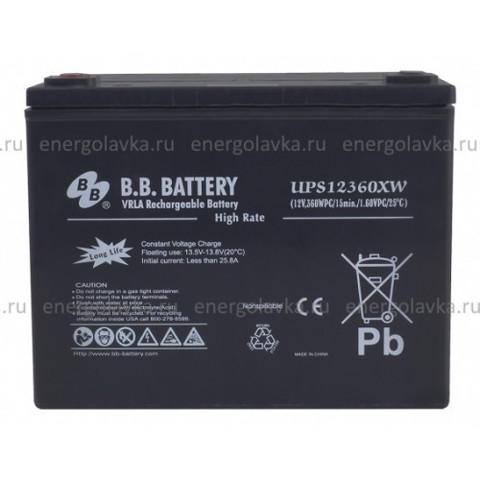 Аккумулятор BB Battery UPS 12360XW